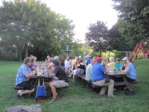 Sommer-/Flammkuchenfest an der Vorberghütte