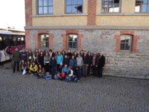 Die Gruppe vom Jugendaustausch 2016