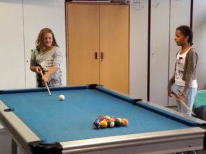 Billiard wird immer gerne gespielt
