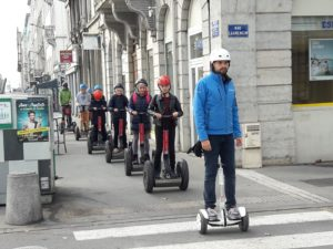Segway-Tour in Gruppen durch Lyon