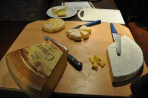 französischer Käse zum Wein